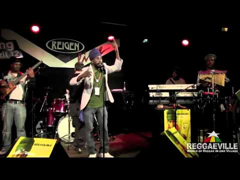 Soundcheck: Sizzla  Be Strong in Vienna, Austria 3262012