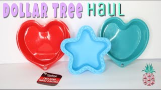 Dollar Tree Haul NEW FINDS! SPRING ITEMS