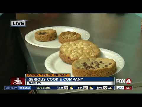 Food Truck Friday: Serious Cookie Company 7:15AM