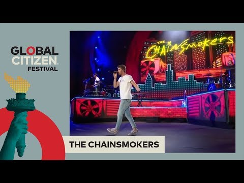 The Chainsmokers Perform 'Paris' | Global Citizen Festival NYC 2017