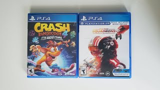 Crash Bandicoot 4: It's About Time & EA Star Wars: Squadrons - PS4 Unboxing