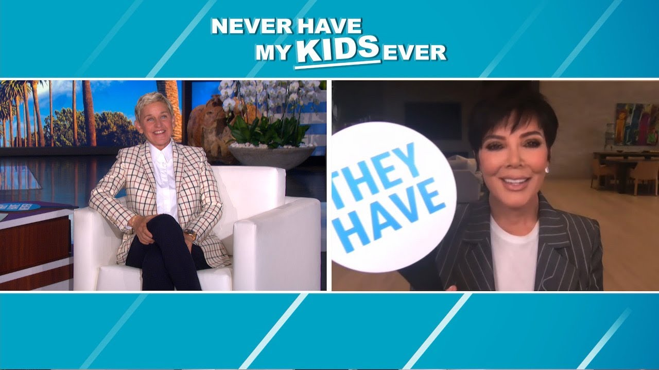 Kris Jenner Tells Tattoo and Waxing Secrets in 'Never Have My Kids Ever'