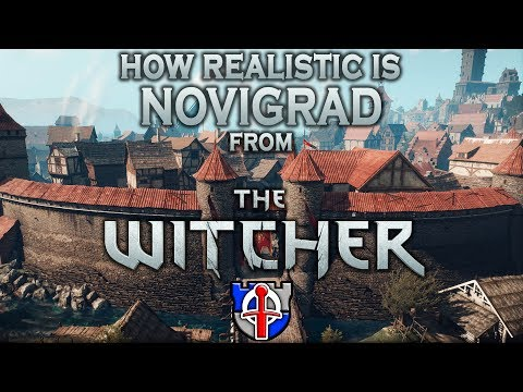How realistic is NOVIGRAD from the WITCHER 3?