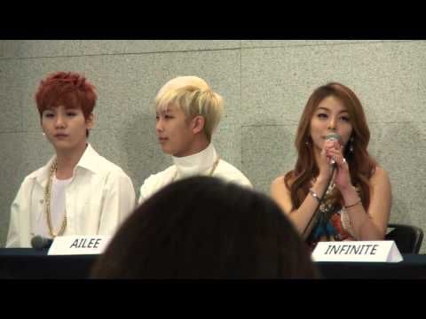 141030 Music Bank in Mexico Press Conference part 3 - Question time (Girl's Day and Ailee)