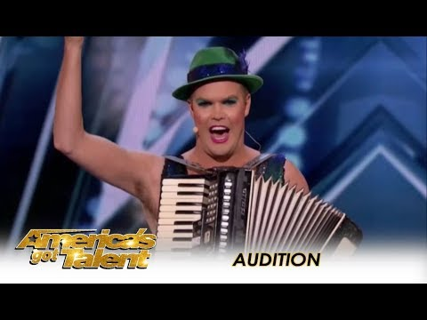Accordion Hans: The International SUPERSTAR From Germany Is HERE!  Americas Got Talent 2018