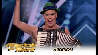 Accordion Hans: The International SUPERSTAR From Germany Is HERE! | America's Got Talent 2018
