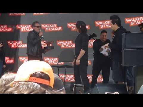 Walker Stalker San Francisco -Jeffrey Dean Morgan & Norman Reedus Happy Birthday