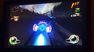 Jak X Combat Racing: Gameplay Daxter Time Trial Deathdrome
