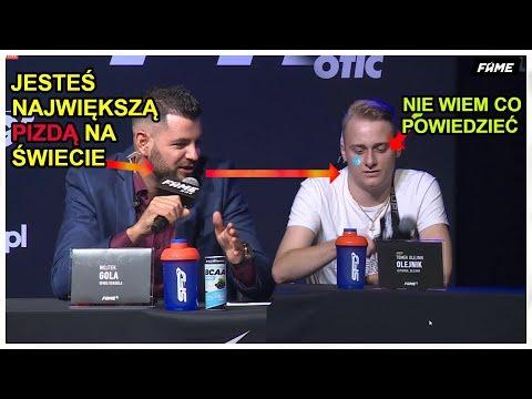1 Konferencja FAME MMA 5 - NAJLEPSZE MOMENTY cz.2