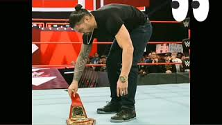 Sad news for Roman reigns fans Roman reigns has blood cancer so he stopped wwe