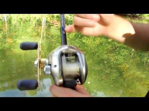 Baitcaster how to trick for clearing backlashes youtube for Best fishing line for bass baitcaster