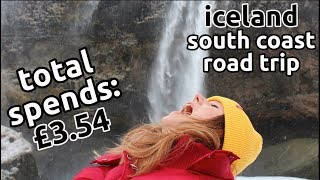 iceland south coast on a budget | ring road trip itinerary | vlog 3