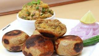 Litti Chokha Recipe | Bihari Style Litti Chokha |Indian Street food