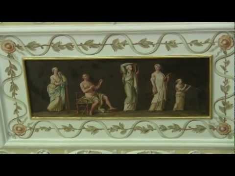 Schloss Wörlitz: Pompeji-Ausstellung und Innen-Ausstattung (ancient Roman palace interior)