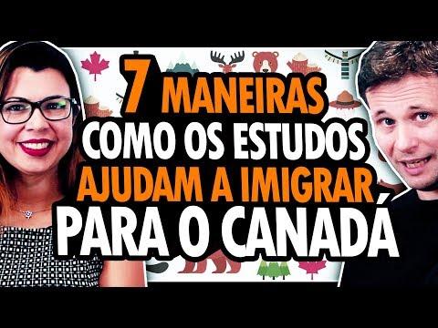 7 FORMAS QUE AJUDAM A IMIGRAR PARA O CANADÁ PELOS ESTUDOS