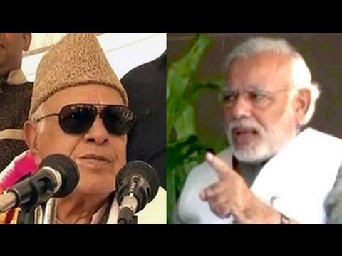 Narendra Modi vs Farooq Abdullah, who said 'Modi voters should jump in sea'