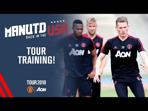 Manchester United USA Training! | Martial, McTominay, Valencia and more | USA Tour 2018 Live on MUTV