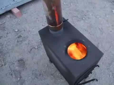 Буржуйка (печь дровяная)