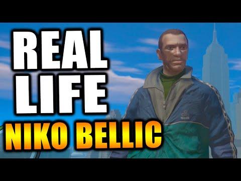GTA Retro: Niko Bellic IN REAL LIFE! #SevenYearsOfGTAIV |