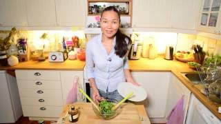 Зеленый Салат на Скорую Руку за 2 Минутки
