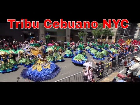 Sinulog Festival in Philippine Independence Day Parade NYC 2019