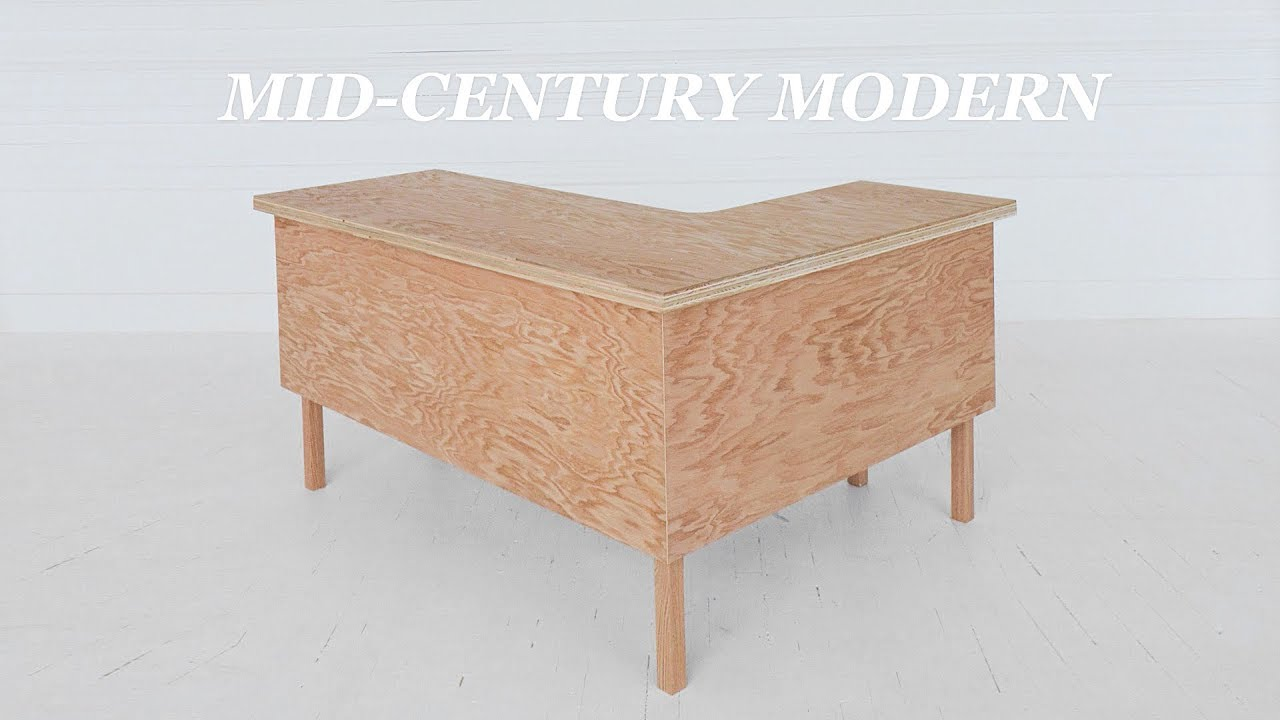 How To Build An L Shaped Executive Desk