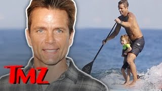 Baywatch Star David Chokachi And His Adorable Daughter Go Boarding!