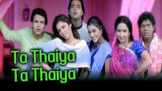 Ta Thaiya Ta Thaiya | Shaan, Sunidhi Chauhan | Aamdani Atthanni Kharcha Rupaiya Songs | Tabu