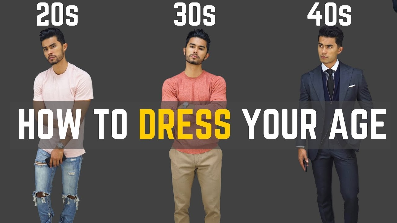 965423dc8cc4 How To Dress Your Age | How to Dress In Your 20s, 30s & 40s - YouTube