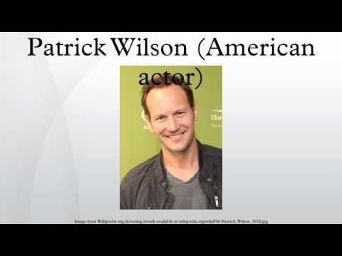 Patrick Wilson (American actor)