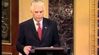 Ensign Gives Final Address to United States Senate