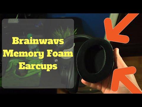 Brainwavs Memory Foam Earcups Review - Audio Technica M50x