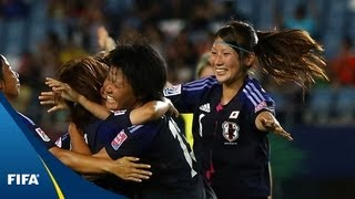 Hosts Japan open with goal barrage