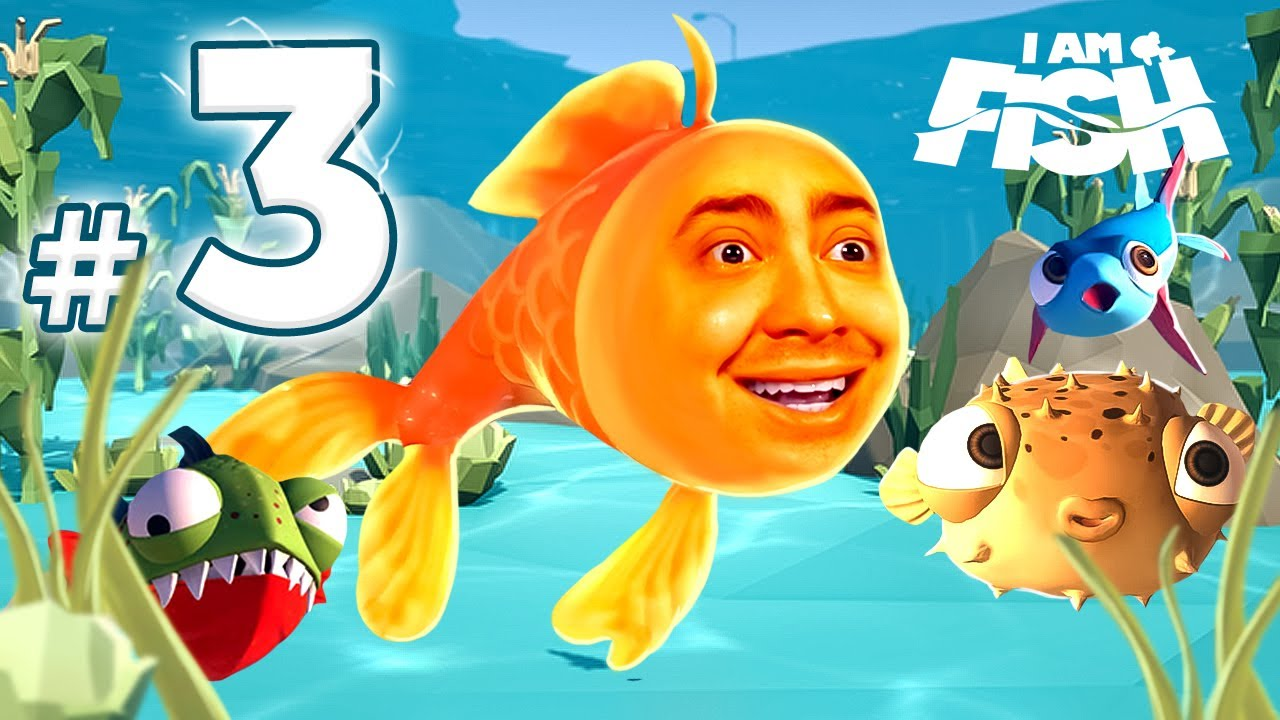alanzoka jogando I Am Fish - Parte #3