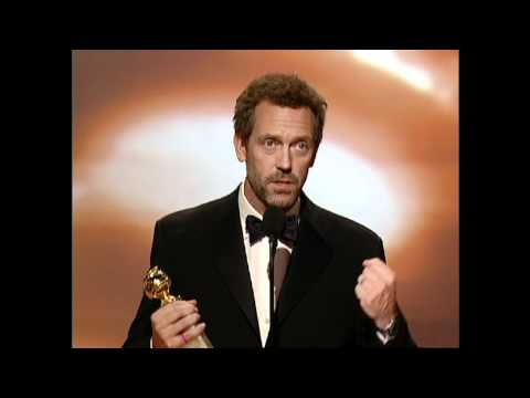 Hugh Laurie Wins Best Actor TV Series Drama  Golden Globes 2007