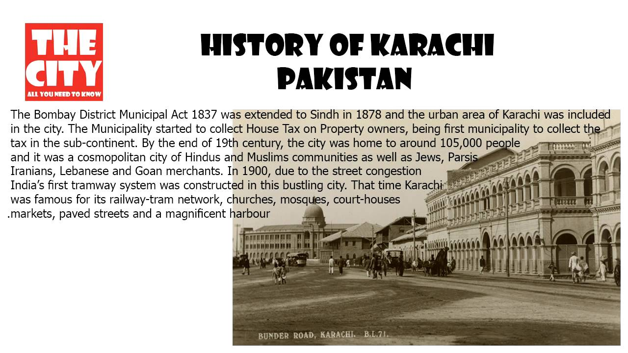 History of KARACHI, PAKISTAN