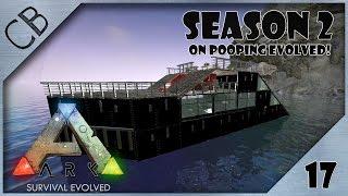 ARK: Survival Evolved - Timelapse Raft Build - The Yacht! - S2Ep17