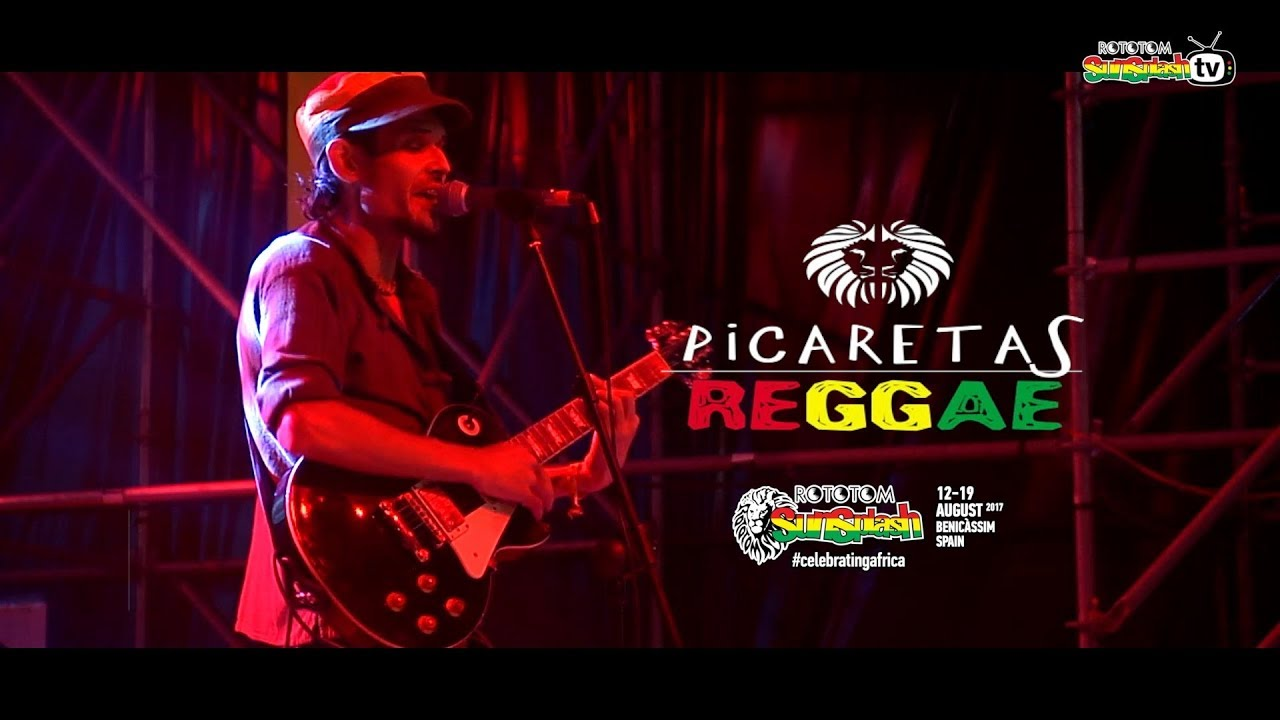 THREE LITTLE BIRDS - BOB MARLEY cover PICARETAS REGGAE @ Live Rototom Sunsplash 2017
