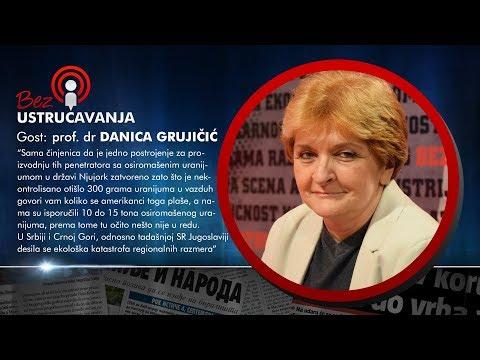 BEZ USTRUČAVANJA: prof. dr Danica Grujičić - Svi ćute o onome što se dogodilo 1999. godine