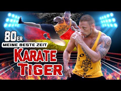 Karate Tiger 80er Motivation Fanclip -