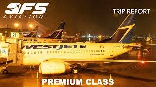 TRIP REPORT | WestJet - 737 600 - Calgary (YYC) to Edmonton (YEG) | Premium Class