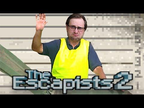 ТЯЖЕЛАЯ РАБОТА И ПЕРВЫЙ ПОБЕГ ► The Escapists 2 #3