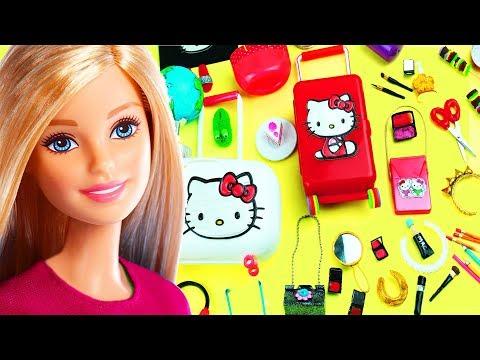 100 DIY Miniature Barbie Dollhouse Accessories & Lifehacks #8  - simplekidscrafts