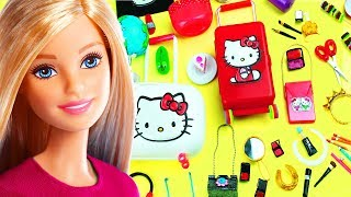 100 DIY Miniatur Aksesoris Boneka Barbie & Lifehacks #8