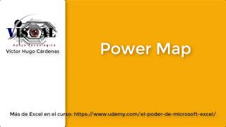 Power Map en Microsoft Excel