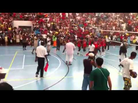 Final Seychelles Vs reunion volleyball 2011