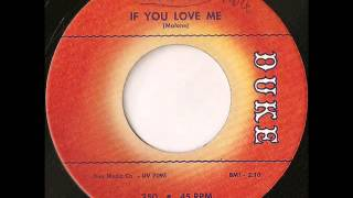 Willie Mays - if you love me