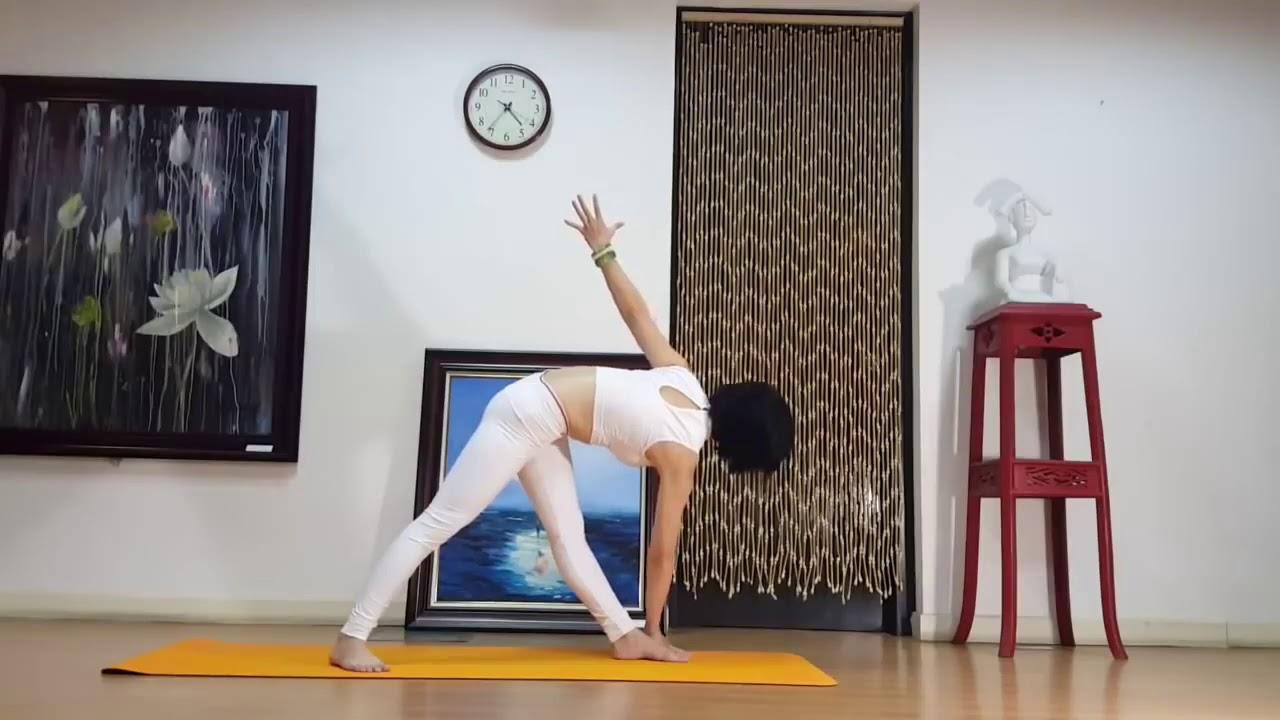 Yoga giảm mỡ bụng   Đánh tan mỡ bụng trước để sở hữu vòng eo phẳng lỳ cùng Nguyễn Hiếu Yoga