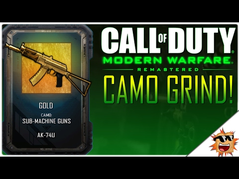 "Modern Warfare Remastered ""Camo Grind & Depot Credit Grind!"" 