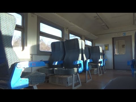 Миниобзор кресельного салона электропоезда ЭД4МК-0028